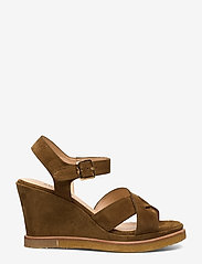 ANGULUS - Sandals - wedge - wedges - 2209 mustard - 1