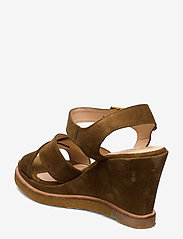 ANGULUS - Sandals - wedge - wedges - 2209 mustard - 2