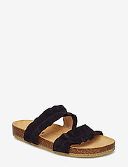 ANGULUS - Sandals - flat - open toe - op - flade sandaler - 1163 black - 0