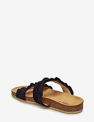 ANGULUS - Sandals - flat - open toe - op - flade sandaler - 1163 black - 2