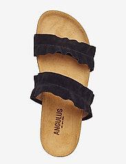 ANGULUS - Sandals - flat - open toe - op - flade sandaler - 1163 black - 3