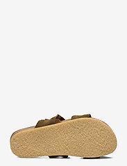 ANGULUS - Sandals - flat - open toe - op - platta sandaler - 2207 khaki - 4