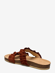 ANGULUS - Sandals - flat - open toe - op - platta sandaler - 2208 rust - 2