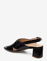 ANGULUS - Sandals - Block heels - sandalen mit absatz - 1835 black - 2