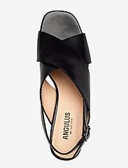 ANGULUS - Sandals - Block heels - sandalen mit absatz - 1835 black - 3