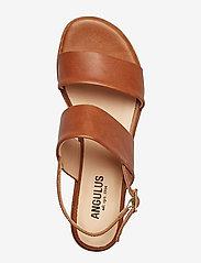 ANGULUS - Sandals - flat - flache sandalen - 1789 tan - 3