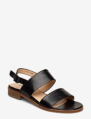 ANGULUS - Sandals - flat - platta sandaler - 1835 black - 0