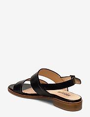 ANGULUS - Sandals - flat - platta sandaler - 1835 black - 2