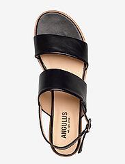 ANGULUS - Sandals - flat - platta sandaler - 1835 black - 3