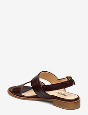 ANGULUS - Sandals - flat - flache sandalen - 1836 dark brown - 2