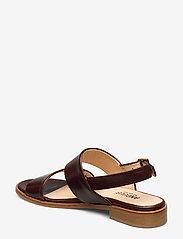 ANGULUS - Sandals - flat - platta sandaler - 1836 dark brown - 2