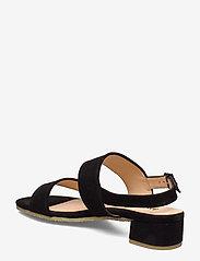 ANGULUS - Sandals - flat - sandalen mit absatz - 1163 black - 2