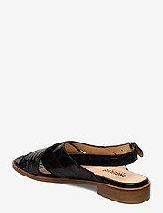 ANGULUS - Sandals - flat - flache sandalen - 1674 black croco - 2