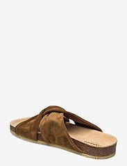 ANGULUS - Sandals - flat - open toe - op - flache sandalen - 2209 mustard - 2