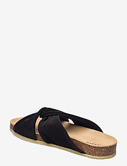 ANGULUS - Sandals - flat - open toe - op - flache sandalen - 1163 black - 2