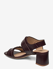 ANGULUS - Sandals - Block heels - sandalen mit absatz - 1836 dark brown - 2