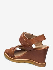 ANGULUS - Sandals - wedge - wedges - 1789 tan - 2