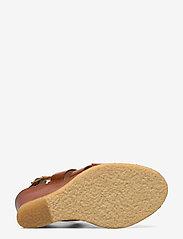 ANGULUS - Sandals - wedge - wedges - 1789 tan - 4