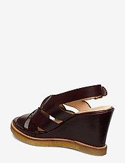 ANGULUS - Sandals - wedge - wedges - 1836 dark brown - 2