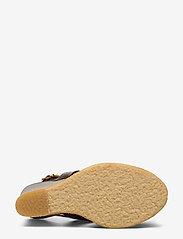 ANGULUS - Sandals - wedge - wedges - 1836 dark brown - 4