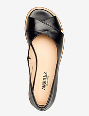 ANGULUS - Sandals - flat - open toe - clo - flache sandalen - 1835/001 black/black - 3