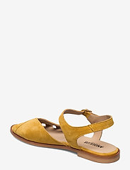 ANGULUS - Sandals - flat - open toe - op - flache sandalen - 2201 yellow - 2