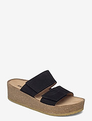 ANGULUS - Sandals - flat - open toe - op - sandalen mit absatz - 1163 black - 0