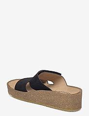 ANGULUS - Sandals - flat - open toe - op - sandalen mit absatz - 1163 black - 2