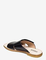 ANGULUS - Sandals - flat - open toe - op - flache sandalen - 1835 black - 2