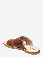ANGULUS - Sandals - flat - open toe - op - flache sandalen - 1838 cognac - 2