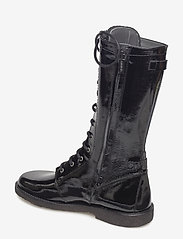 ANGULUS - Long boot with laces. - lange laarzen - 1310 black - 2