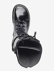 ANGULUS - Long boot with laces. - lange laarzen - 1310 black - 3