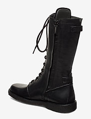 ANGULUS - Long boot with laces. - lange stiefel - 1604 black - 2