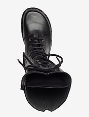 ANGULUS - Long boot with laces. - lange stiefel - 1604 black - 3