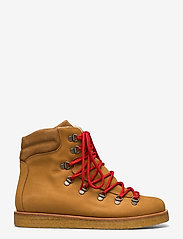 ANGULUS - Boots - flat - with laces - flache stiefeletten - 1262/1168 camel/tan - 1
