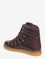 ANGULUS - Boots - flat - with laces - platte enkellaarsjes - 2505/2193 d.brown/d.brown - 2
