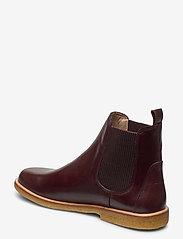 ANGULUS - Booties-flat - with elastic - chelsea boots - 1836/046 dark brown/d. brown - 2