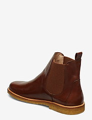 ANGULUS - Booties-flat - with elastic - chelsea støvler - 1837/040 brown/ brown - 2