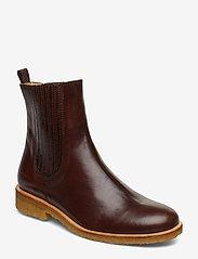 ANGULUS - Chelsea Boot - chelsea boots - 1836/002 dark brown/dark brown - 0