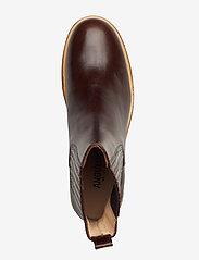 ANGULUS - Chelsea Boot - chelsea boots - 1836/002 dark brown/dark brown - 3