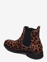 ANGULUS - Chelsea boot - chelsea støvler - 1110/019 leopard/elastic - 2