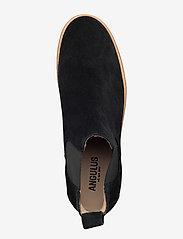 ANGULUS - Chelsea boot - chelsea støvler - 1604/001 black/black - 1