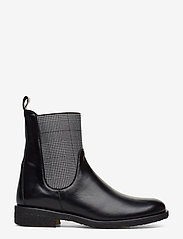 ANGULUS - 7317 - flat ankle boots - 1835/044 black/checked - 1