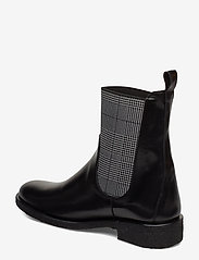 ANGULUS - 7317 - platta ankelboots - 1835/044 black/checked - 2