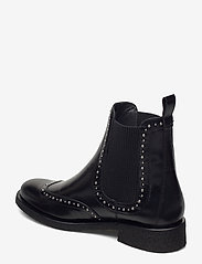 ANGULUS - Booties - flat - with elastic - chelsea boots - 1835/019 black /black - 2