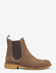ANGULUS - Booties - flat - with elastic - chelsea boots - 1198/003 light cognac/ brown - 1