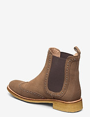 ANGULUS - Booties - flat - with elastic - chelsea støvler - 1198/003 light cognac/ brown - 2