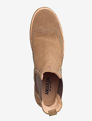 ANGULUS - Booties - flat - with elastic - chelsea støvler - 1198/003 light cognac/ brown - 3