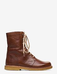 ANGULUS - Boots - flat - with laces - talon bas - 2509 cognac - 1