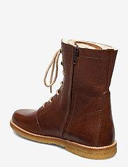 ANGULUS - Boots - flat - with laces - talon bas - 2509 cognac - 2